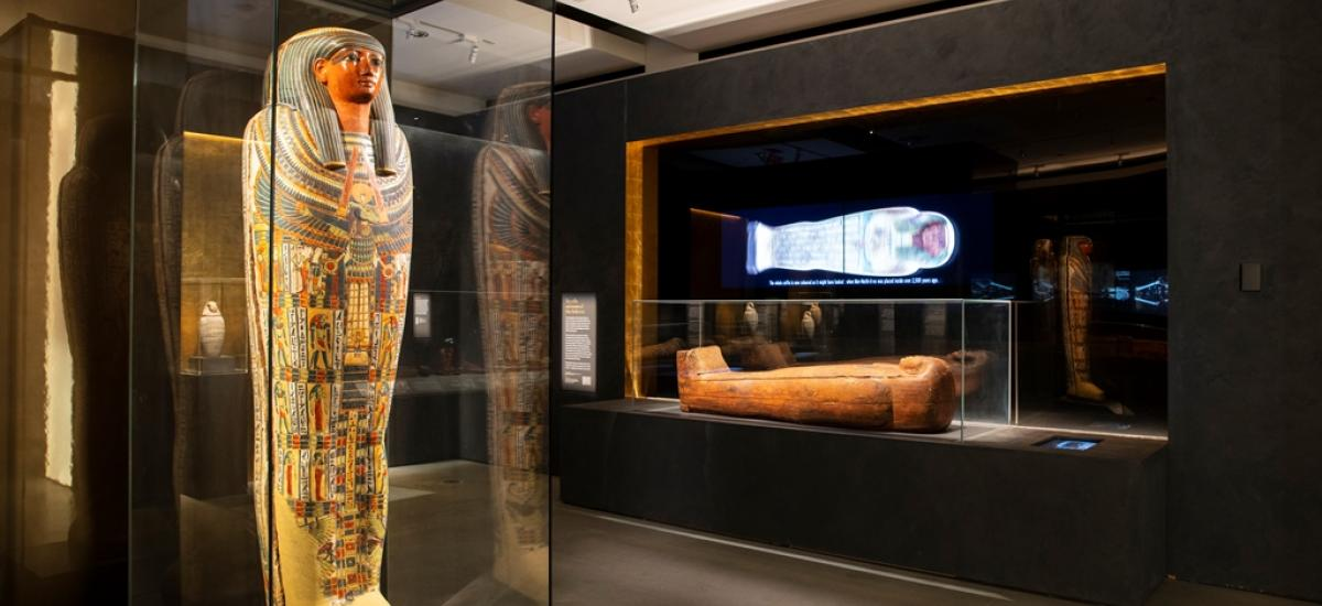 Mummy Room - CCW Museum - Sydney University